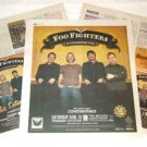 FOO FIGHTERS In Your Honor Tour advertisements Canada 2004 [SP-250t]