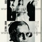 ELTON JOHN SUZI QUATRO BAD COMPANY KISS magazine clipping Japan 1976 [PM-100]