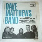 DAVE MATTHEWS BAND Toronto concert magazine advertisement Canada 2004 [SP-250t]