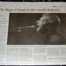 COLDPLAY Toronto concert newspaper review Canada 2005 [SP-250t]