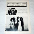 ANDY WILLIAMS CHER ALICE COOPER magazine clipping Japan 1974 [PM-100]