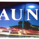 GAUNT promo sticker for Bricks and Blackouts 1998 - Jerry Wick [PM-100]