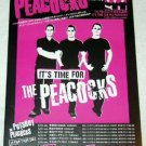 THE PEACOCKS tour & CD flyer Japan 2004 [PM-100f]
