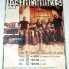 THE LOST PROPHETS tour & CD flyer Japan 2005 [PM-100f]