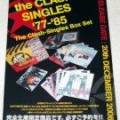 THE CLASH Singles Box Set flyer Japan 2006 [PM-100f]