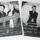 THE CALLING two tour flyers Japan 2004 [PM-100f]