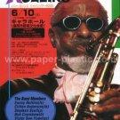 SONNY ROLLINS tour flyer Japan 2000 - jazz [PM-200f]