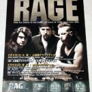 RAGE concert & CD flyer Japan 2005 [PM-100f]