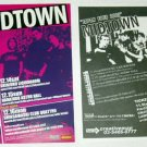 MIDTOWN two tour & CD flyers Japan 2002 [PM-100f]