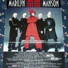 MARILYN MANSON Grotesk Berlesk tour flyer Japan 2003 [PM-100f]