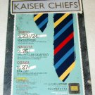 KAISER CHIEFS tour & CD flyer Japan 2006 [PM-100f]