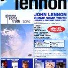 JOHN LENNON Gimme Some Truth video flyer Japan 2000 [PM-100f]