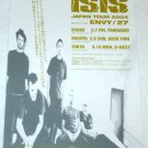 ISIS tour flyer Japan 2004 [PM-100f]