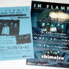 IN FLAMES & CHIMAIRA two tour & CD flyers Japan 2004 [PM-100f]