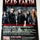 ICED EARTH tour & CD flyer Japan 2004 [PM-100f]