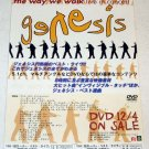 GENESIS The Way We Walk DVD flyer Japan 2002 [PM-200f]