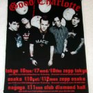 GOOD CHARLOTTE tour & CD flyer Japan 2004 [PM-100f]