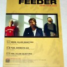 FEEDER tour & CD flyer Japan 2005 [PM-100f]