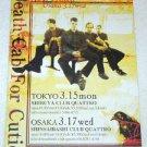 DEATH CAB FOR CUTIE concert & CD flyer Japan 2004 [PM-100f]