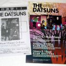 DATSUNS two tour & CD flyers Japan 2004 [PM-100f]