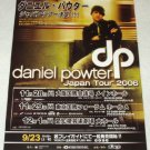DANIEL POWTER tour flyer Japan 2006 [PM-100f]