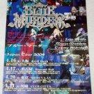 BLUE MURDER John Sykes / SOILWORK tour flyer Japan 2004 [PM-100f]
