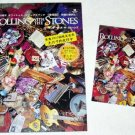 BILL WYMAN Rolling with The Stones flyer & card Japan [PM-100f]