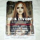 AVRIL LAVIGNE Bonez Tour & CD flyer Japan 2005 #2 [PM-100f]