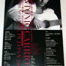 ANTONIO CARRION concert flyer Japan 2006 - flamenco [PM-200f]