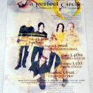 A PERFECT CIRCLE concert & CD flyer Japan 2004 [PM-100f]