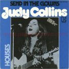 JUDY COLLINS Send In the Clowns 45 Germany + PR sheet [7-100]