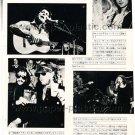 LEONARD COHEN MOTT THE HOOPLE RINGO & NILSSON ETTA JAMES magazine clipping Japan 1974 [PM-100]