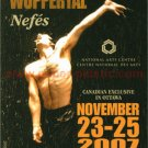PINA BAUSCH Tanztheater Wuppertal ad card Canada 2007 [PM-100]