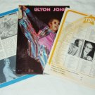 ELTON JOHN Captain Fantastic LP review magazine clipping France 1975 [PM-100]
