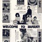 QUEEN Jazz LP advert Japan + TODD RUNDGREN ROD STEWART LINDA RONSTADT AC/DC MARIA MULDAUR [PM-100]