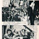 JOE COCKER BIANCA JAGGER JACKSON 5 DONNY OSMOND THE OSMONDS magazine clipping Japan 1973 [PM-100]
