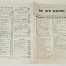The New Records May 1952 Gramaphone Supplement UK [PM-100]