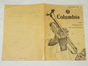 Columbia Records Catalogue No. 4 1950s Jazz Masterworks Germany [PM-100]