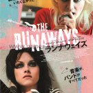 THE RUNAWAYS Dakota Fanning Kristen Stewart movie flyer Japan 2010 KIM FOWLEY [PM-100f]