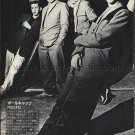 THE POLECATS magazine clipping Japan 1981 #1 - rockabilly [PM-100]