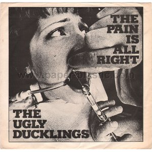 THE UGLY DUCKLINGS The Pain Is All Right 45 Canada w/PS - Toronto garage rock [7-100]