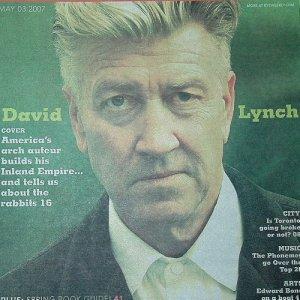 DAVID LYNCH THE PHONEMES EDWARD BOND PETER BJORN AND JOHN mag Canada May 3, 2007 [SP-500]