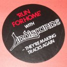 LINDISFARNE round promo sticker for Run for Home UK? 1978 [PM-100]