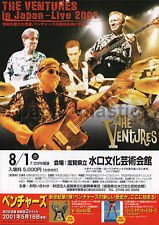 THE VENTURES Minakuchi concert flyer Japan August 2001 [PM-100f]
