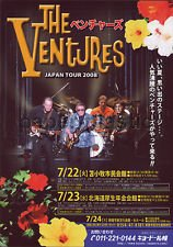 THE VENTURES Hokkaido tour flyer Japan July 2008 [PM-100f]