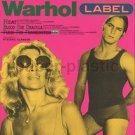 ANDY WARHOL retrospective movie flyer Japan 1995 [PM-100]