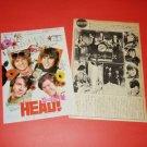 HEAD The Monkees Bob Rafelson Frank Zappa movie flyer & magazine clipping Japan [PM-100]