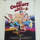LES CHARLOTS CONTRE DRACULA Jean-Pierre Desagnat Crazy Boys movie poster France
