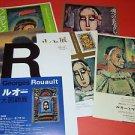GEORGES ROUAULT 6 art exhibition flyers Japan 2008-12