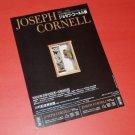 JOSEPH CORNELL art exhibition flyer Japan 1993